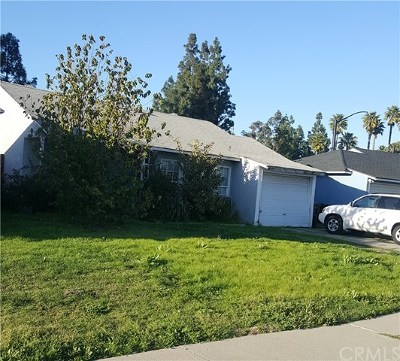 Norwalk CA Single Family Home Active Under Contract: $350,000