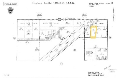 Newberry Springs Residential Lots & Land For Sale: 46254 Camelot Street