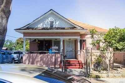 Los Angeles Multi Family Home For Sale: 3631 Trinity Street