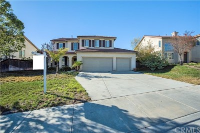 Murrieta Single Family Home For Sale: 27503 Mangrove Street