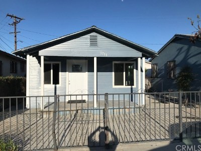 Compton Single Family Home For Sale: 1708 N Largo
