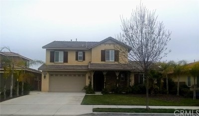 Menifee CA Single Family Home For Sale: $515,000