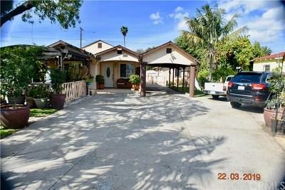 Long Beach Multi Family Home For Sale: 117 E 53rd Street