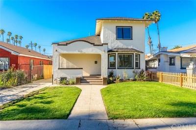 Los Angeles Single Family Home For Sale: 5025 S Harvard Boulevard