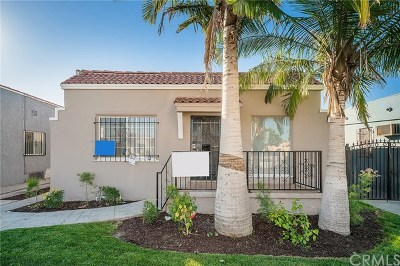 Los Angeles Single Family Home For Sale: 5829 S Van Ness Avenue