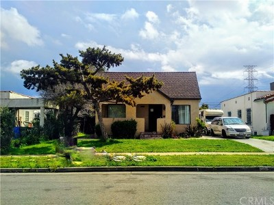 Los Angeles County Single Family Home For Sale: 9640 S Hobart Boulevard