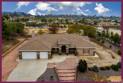 Perris Single Family Home For Sale: 17161 Birds Eye Drive