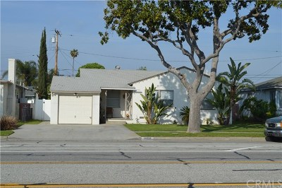 Whittier Single Family Home For Sale: 11521 Mines Boulevard