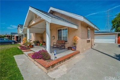 Downey Single Family Home For Sale: 7209 Irwingrove Drive