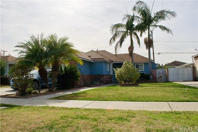Downey Single Family Home For Sale: 7424 Luxor Street