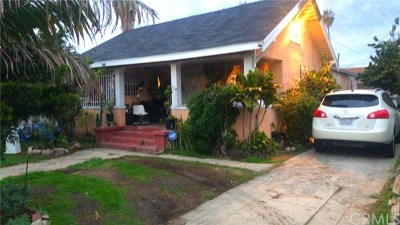 Los Angeles Multi Family Home For Sale: 329 W 74th Street