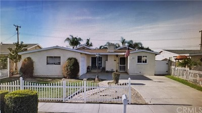 La Puente Single Family Home For Sale: 14934 Prichard Street