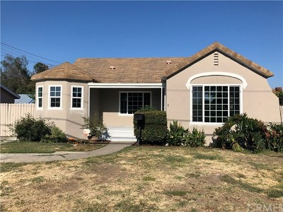 Buena Park Single Family Home Active Under Contract: 6302 Indiana Avenue
