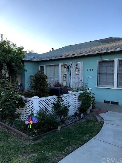 Pasadena Single Family Home For Sale: 3750 Arboleda Street
