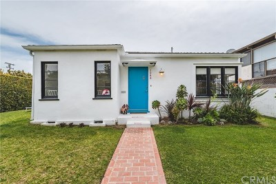Santa Monica Single Family Home For Sale: 1048 Pacific Street