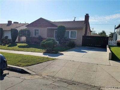 Burbank Single Family Home For Sale: 2749 N Keystone Street