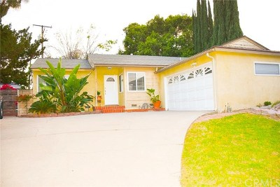 La Mirada Single Family Home For Sale: 14810 Spangler Place