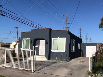 Compton Single Family Home For Sale: 622 N Pearl Avenue