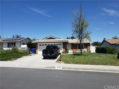 Valencia Single Family Home For Sale: 22925 Pamplico Drive