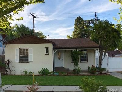 Whittier Single Family Home For Sale: 8226 Washington Avenue