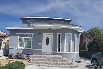 Los Angeles Single Family Home For Sale: 4055 W 59th Place