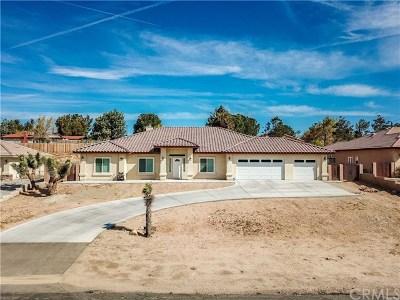 Hesperia CA Single Family Home For Sale: $399,900