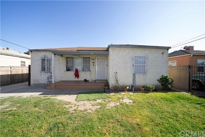 Compton Multi Family Home For Sale: 118 E Cypress Street