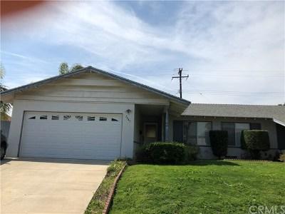 Fullerton Single Family Home For Sale: 2443 Cambridge Avenue