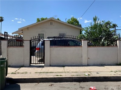 Los Angeles County Multi Family Home For Sale: 230 W 86th Place