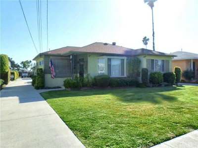 Downey Multi Family Home For Sale: 8340 Luxor Street