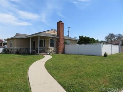 Downey Single Family Home Active Under Contract: 12732 La Reina Avenue