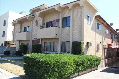 Van Nuys Multi Family Home For Sale: 14804 Victory Boulevard