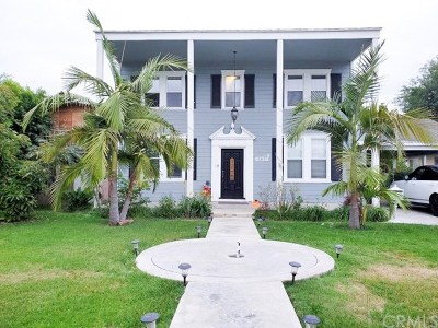 Downey Single Family Home For Sale: 9136 Manzanar Avenue