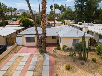Palm Springs Single Family Home For Sale: 1345 E Camino Primrose