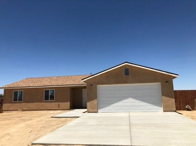 California City Single Family Home For Sale: 9501 Redwood Boulevard