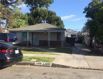 Paramount Multi Family Home For Sale: 6608 San Mateo Street