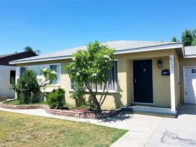 Pico Rivera Single Family Home For Sale: 6721 Passons Boulevard