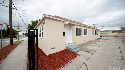 Los Angeles Multi Family Home For Sale: 9814 S Hoover Street