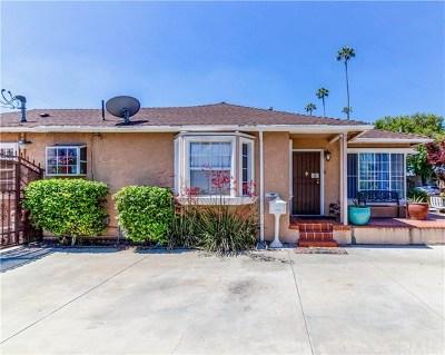 Downey Single Family Home For Sale: 9618 Tweedy Ln