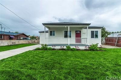 Baldwin Park Single Family Home For Sale: 4924 Elton Street