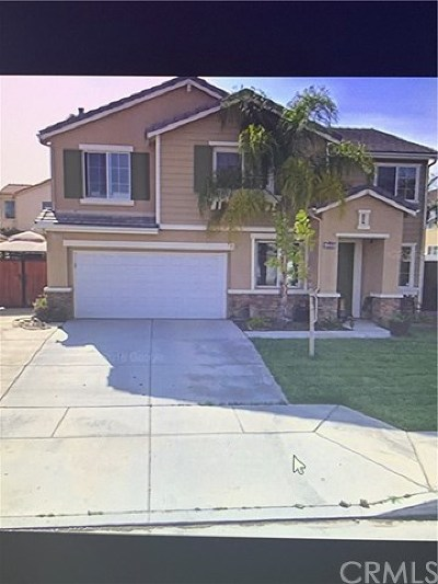 Perris Single Family Home For Sale: 1208 Quigley Lane