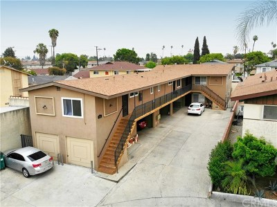 Downey Multi Family Home For Sale: 10600 Parrot Avenue