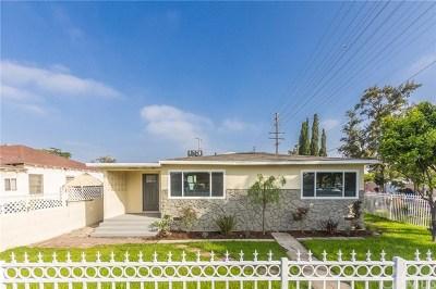 Sun Valley Single Family Home For Sale: 11903 Rialto Street
