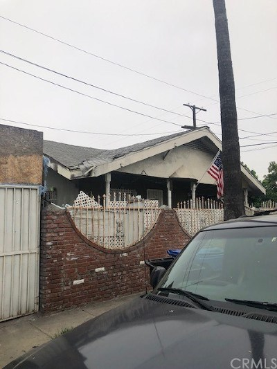 Los Angeles Commercial For Sale: 300 W 74th Street