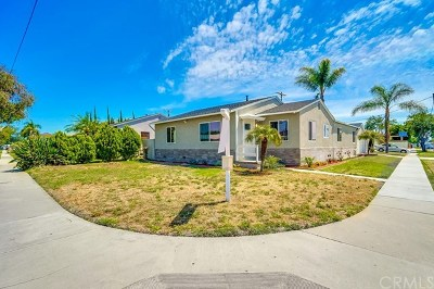 Whittier Single Family Home For Sale: 7218 Cully Avenue