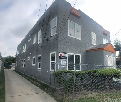 Compton Multi Family Home For Sale: 326 W Palm Street