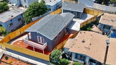 Los Angeles Single Family Home For Sale: 3441 N Figueroa Street