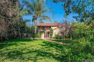 Altadena Single Family Home For Sale: 2632 Boulder Road