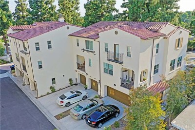 Whittier Condo/Townhouse For Sale: 11837 Freeman Place