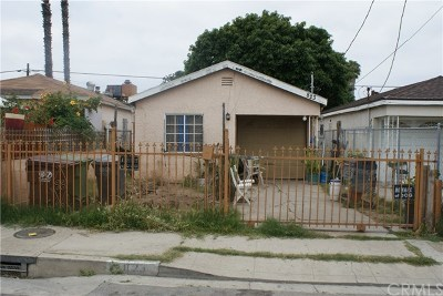 Compton Single Family Home For Sale: 823 W Magnolia Street